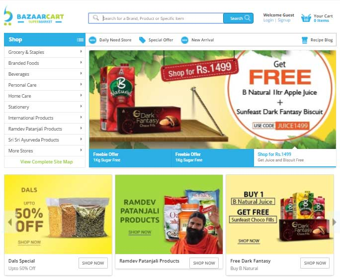 BazaarCart Promo Codes | Coupons | Offers