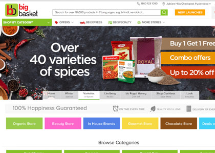 BigBasket Promo Codes | Coupons | Offers
