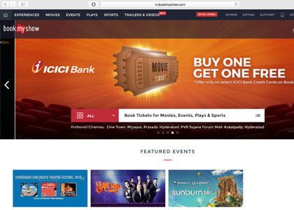 BookMyShow Promo Codes | Coupons | Offers