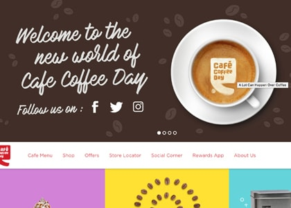 Cafe Coffee Day Promo Codes | Coupons | Offers