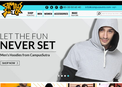 Campus Sutra Promo Codes | Coupons | Offers