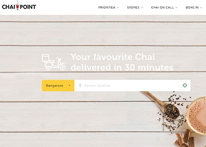 Chai Point Promo Codes | Coupons | Offers