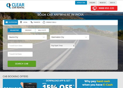 Clear Car Rental Promo Codes | Coupons | Offers