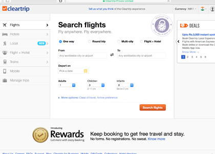 Cleartrip Promo Codes | Coupons | Offers