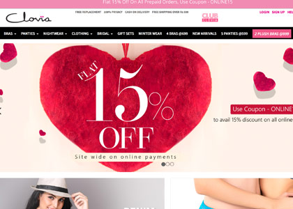 Clovia Promo Codes | Coupons | Offers