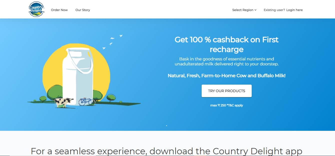 Country Delight Promo Codes | Coupons | Offers