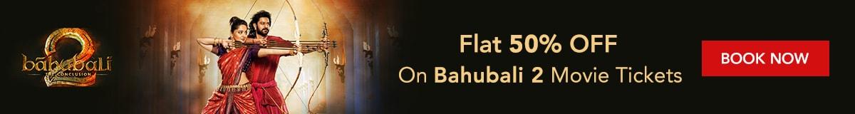 Baahubali 2 movie ticket offers