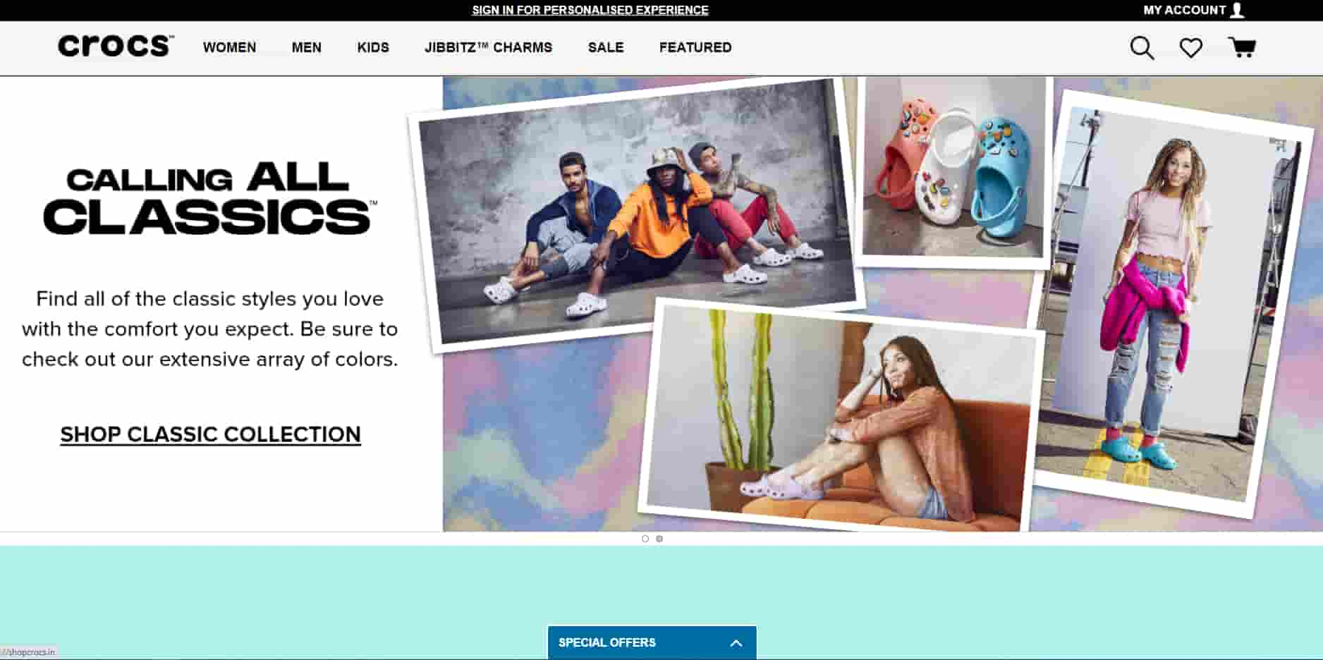 Crocs Promo Codes | Coupons | Offers