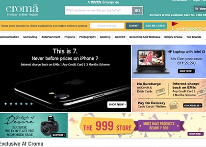 Croma Promo Codes | Coupons | Offers