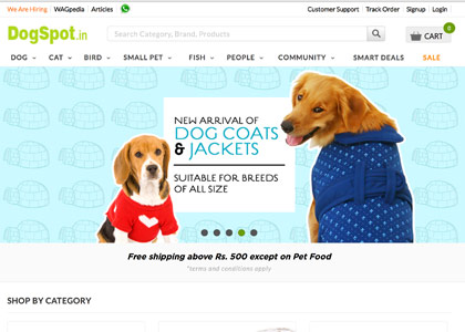 Dogspot Promo Codes | Coupons | Offers