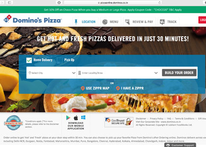 Dominos Promo Codes   Coupons   Offers