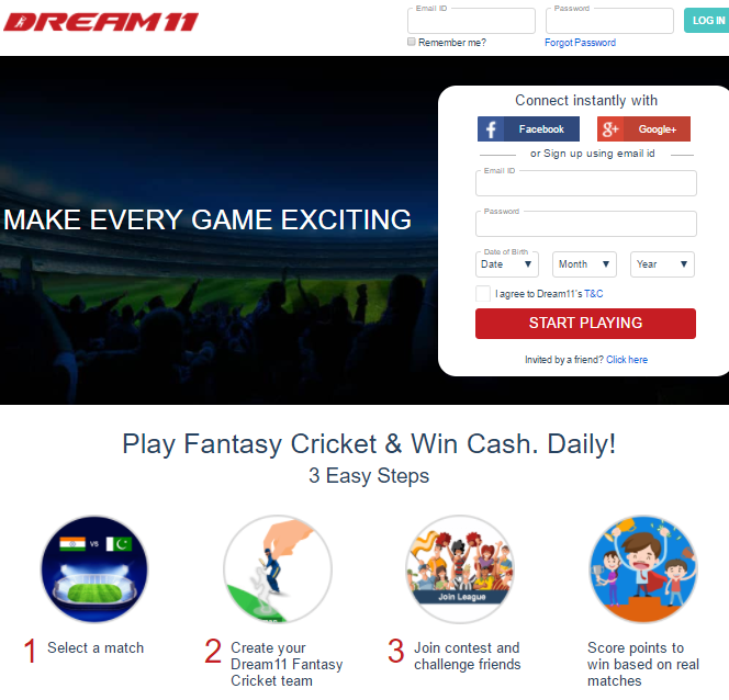 Dream11 Promo Codes | Coupons | Offers