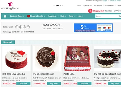 Emotiongift Promo Codes | Coupons | Offers