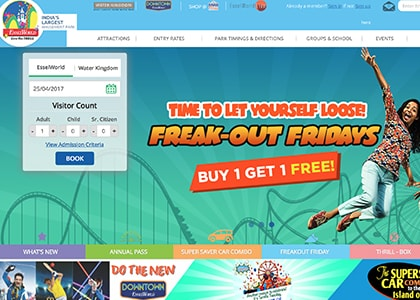 EsselWorld Promo Codes | Coupons | Offers