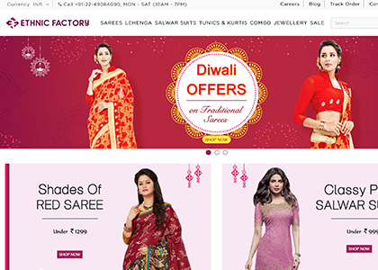 Ethnic Factory Promo Codes | Coupons | Offers