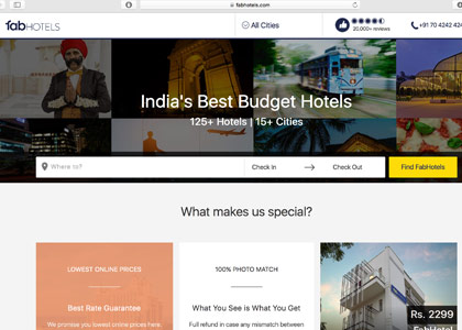 FabHotels Promo Codes | Coupons | Offers