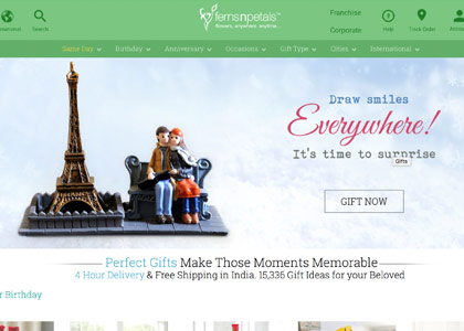 Ferns N Petals Promo Codes | Coupons | Offers