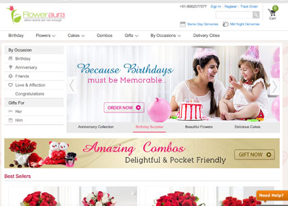 Floweraura Promo Codes | Coupons | Offers