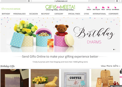 GiftsbyMeeta Promo Codes | Coupons | Offers