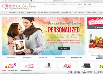 GiftstoIndia24x7 Promo Codes | Coupons | Offers