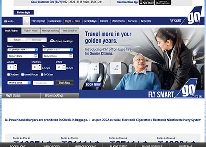 GoAir Promo Codes | Coupons | Offers