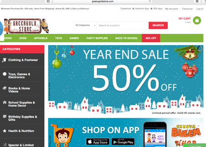 Green Gold Store Promo Codes   Coupons   Offers