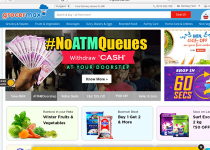 Grocermax Promo Codes | Coupons | Offers
