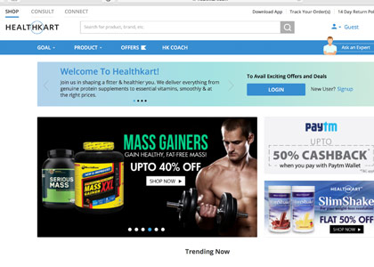 Healthkart Promo Codes | Coupons | Offers