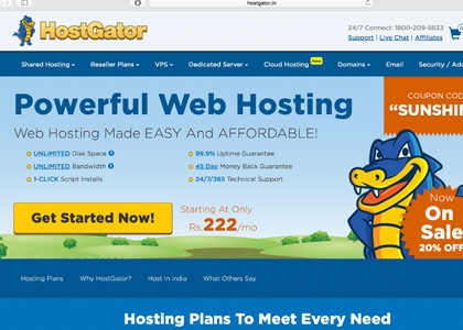 Hostgator Promo Codes | Coupons | Offers