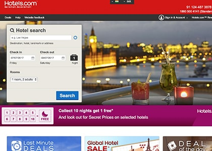 HotelsCom Promo Codes | Coupons | Offers