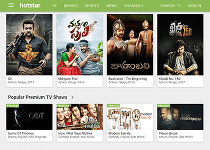 Hotstar Promo Codes | Coupons | Offers