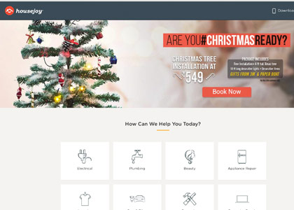 Housejoy Promo Codes | Coupons | Offers