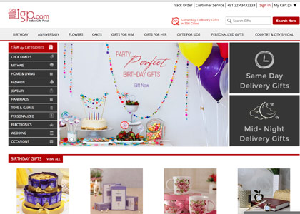 Indian Gifts Portal Promo Codes | Coupons | Offers