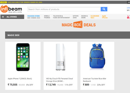 Infibeam Promo Codes   Coupons   Offers