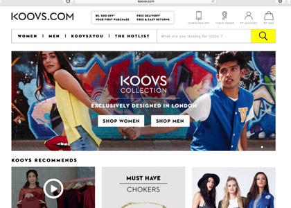 Koovs Promo Codes | Coupons | Offers