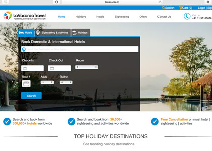 La Vacanza Travel Promo Codes | Coupons | Offers