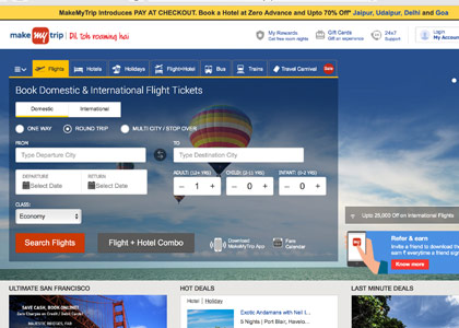 Makemytrip Promo Codes | Coupons | Offers