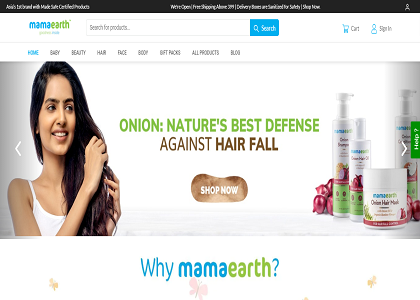 Mamaearth Promo Codes | Coupons | Offers