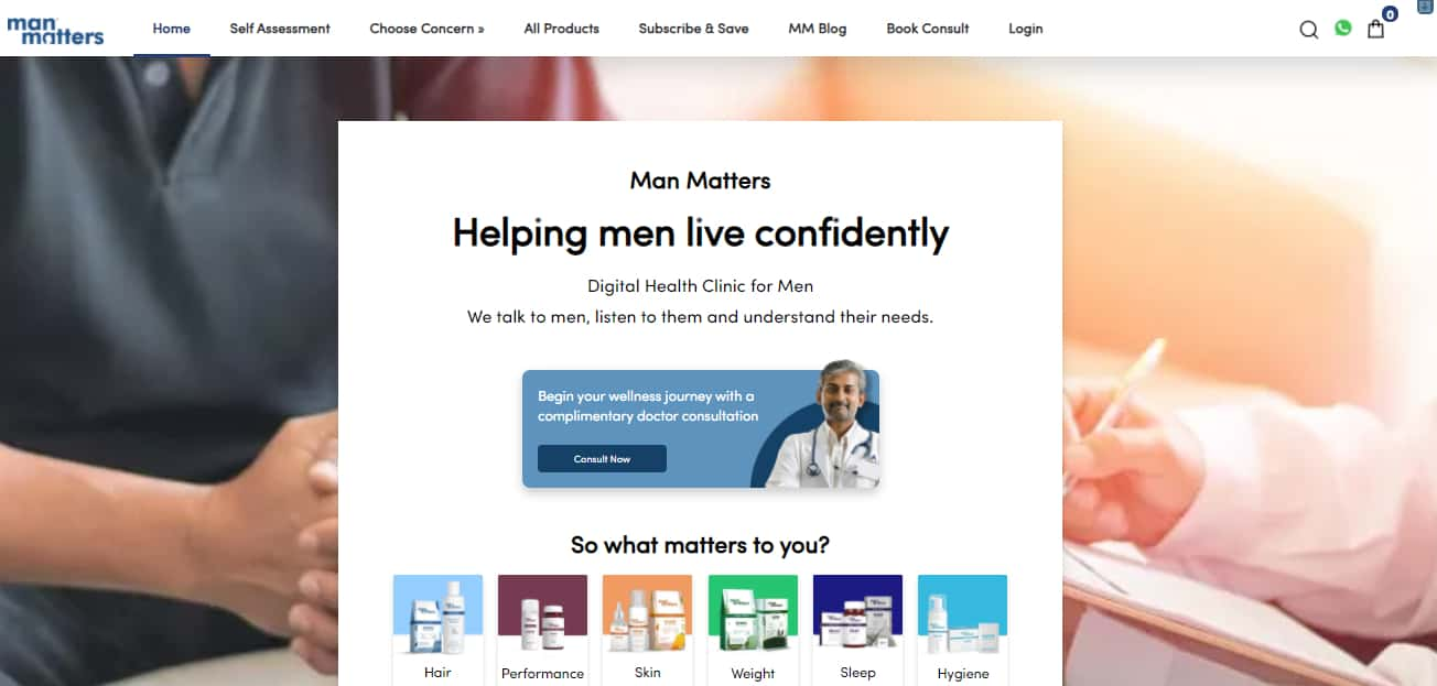 Man Matters Promo Codes   Coupons   Offers