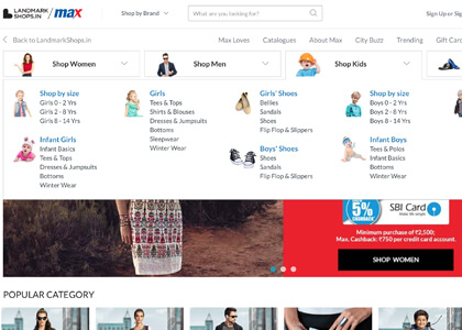 Max Fashion Promo Codes | Coupons | Offers