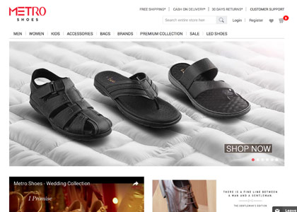 Metro Shoes Promo Codes | Coupons | Offers