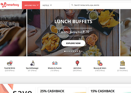 Nearbuy Promo Codes   Coupons   Offers