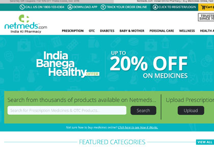 Netmeds Promo Codes | Coupons | Offers