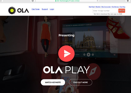 OlaCabs Promo Codes | Coupons | Offers