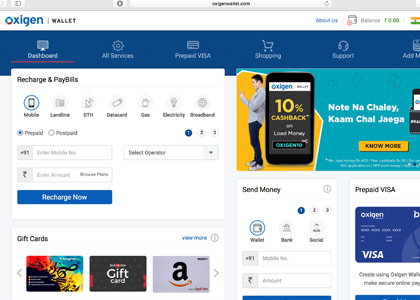 Oxigen Wallet Promo Codes | Coupons | Offers