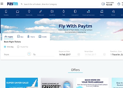 Paytm Flights Promo Codes | Coupons | Offers