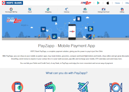PayZapp Promo Codes | Coupons | Offers