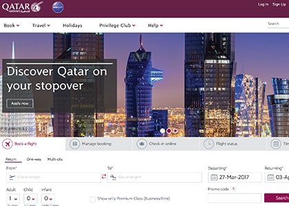 Qatar Airways Promo Codes | Coupons | Offers
