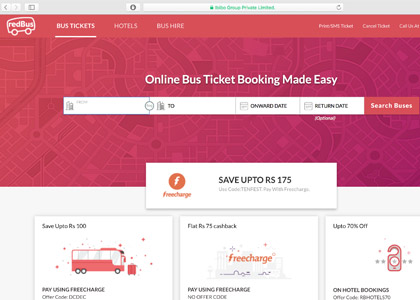redBus Promo Codes | Coupons | Offers