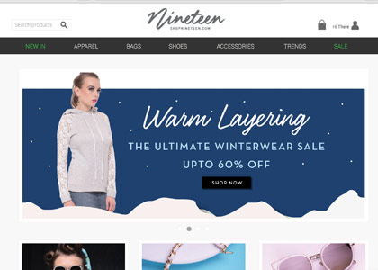 Shopnineteen Promo Codes | Coupons | Offers